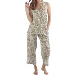 Yala Organic Cotton Alina Pajamas - Sleeveless (For Women)