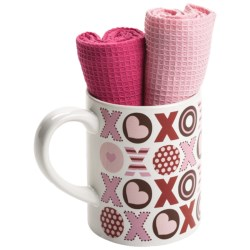 DII Valentine Gift Set - Mug and Dish Towels