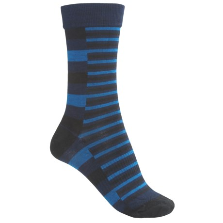 SmartWool Print Socks - Merino Wool, Crew (For Men)