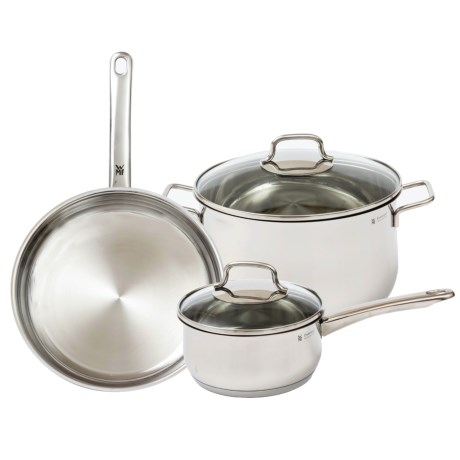 WMF 5-Piece Collier 18/10 Stainless Steel Cookware Set - 5-Piece