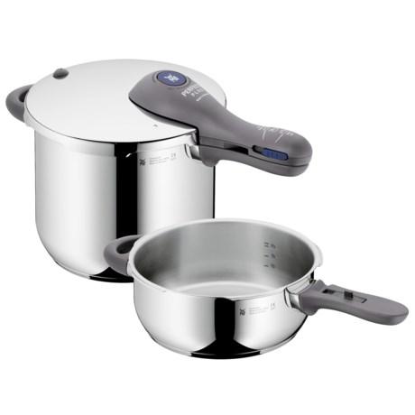 WMF Perfect Plus 6.5/3.0 qt. Pressure Cooker Set