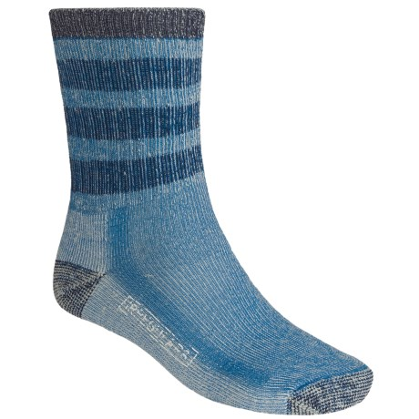 SmartWool Striped Hiking Socks - Midweight, Merino Wool, Crew (For Men and Women)