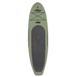 "Boardworks SHUBU Inflatable Stand-Up Paddle Board - 10'2"", Wide"