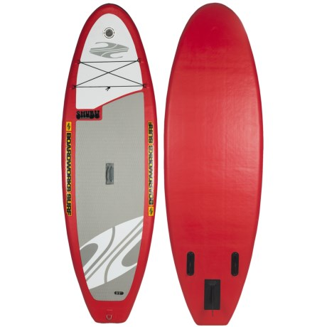 "Boardworks SHUBU Inflatable Stand-Up Paddle Board - 9'2"", Wide"