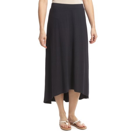 Lilla P Hi-Lo Skirt - Stretch, Low Waist (For Women)
