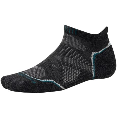 SmartWool PhD V2 Outdoor Light Micro Socks - Merino Wool, Below the Ankle (For Men and Women)