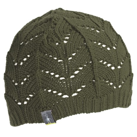 SmartWool Crochet Beanie Hat (For Women)