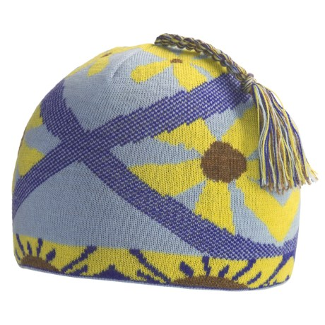 SmartWool Daisy Beanie Hat - Merino Wool (For Kids)