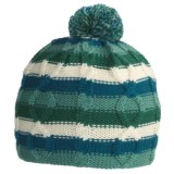 SmartWool Color Cable Beanie Hat - Merino Wool (For Kids)