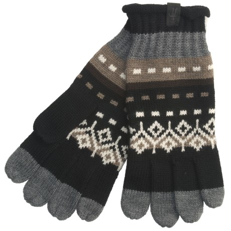 SmartWool Mountain Floral Gloves - Merino Wool (For Men and Women)