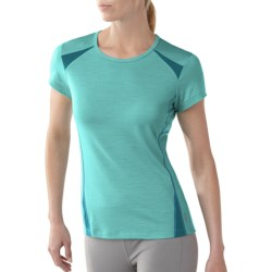 SmartWool Cortina Tech T-Shirt - UPF 25, Short Sleeve (For Women)