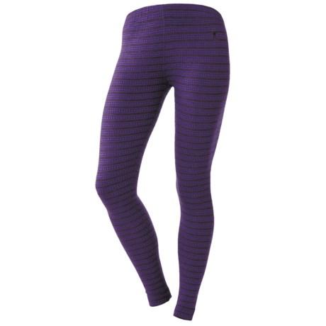 SmartWool NTS Midweight Pattern Base Layer Bottoms - Merino Wool (For Women)