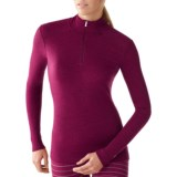 SmartWool NTS Midweight Pattern Base Layer Top - Merino Wool, Zip Neck, Long Sleeve (For Women)