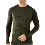 SmartWool NTS Midweight Pattern Base Layer Top - Merino Wool, Crew Neck, Long Sleeve (For Men)