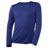 SmartWool NTS Midweight Base Layer Top - Merino Wool, Crew Neck, Long Sleeve (For Kids)