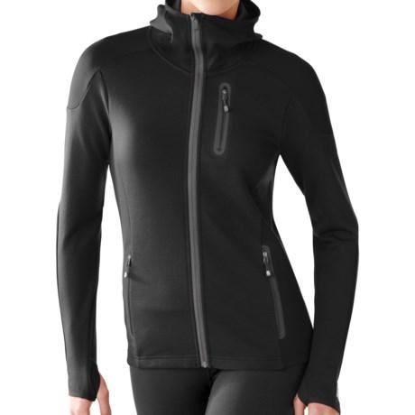 SmartWool PhD HyFi Hoodie Sweatshirt - Merino Wool, Full Zip (For Women)