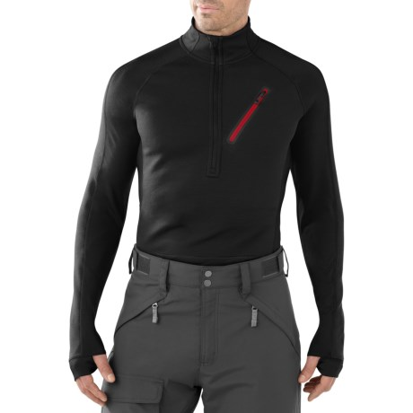 SmartWool PHD HyFi Divide Midlayer Top - Merino Wool, Zip Neck, Long Sleeve (For Men)