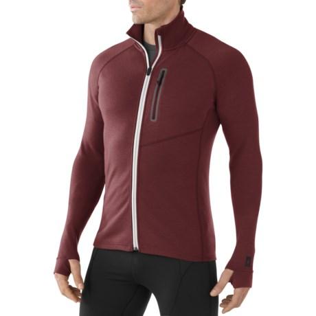 SmartWool Merinomax Jacket - Stretch Merino Wool, Full Zip (For Men)