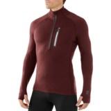 SmartWool Merinomax Base Midlayer Top - Merino Wool, Zip Neck, Long Sleeve (For Men)