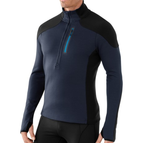 SmartWool PhD HyFi Midlayer Top - Merino Wool, Zip Neck, Long Sleeve (For Men)