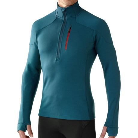 SmartWool PhD HyFi Midlayer Top - Merino Wool, Zip Neck, Long Sleeve (For Men)