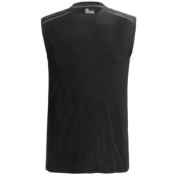 tasc Core Shirt - UPF 50+, Organic Cotton, Sleeveless (For Men)