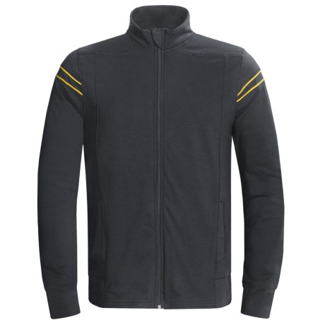 tasc Track Jacket - UPF 50+, Organic Cotton (For Men)