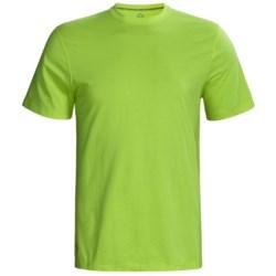 Tasc Essential Crew T-Shirt - UPF 50+, Organic Cotton, Short Sleeve (For Men)