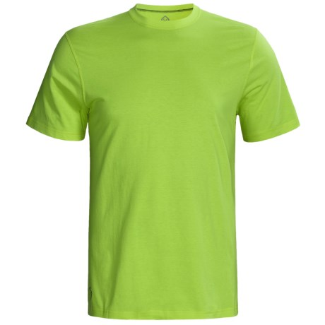 tasc Performance Tasc Essential Crew T-Shirt - UPF 50+, Organic Cotton, Short Sleeve (For Men)