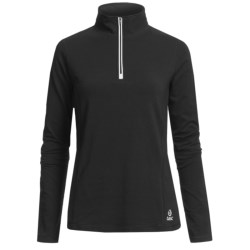 Tasc Core Shirt - UPF 50+, Zip Neck, Long Sleeve (For Women)