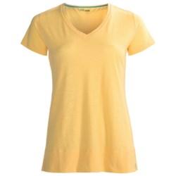 tasc Oceanside V-Neck Shirt - UPF 50+, Short Sleeve (For Women)