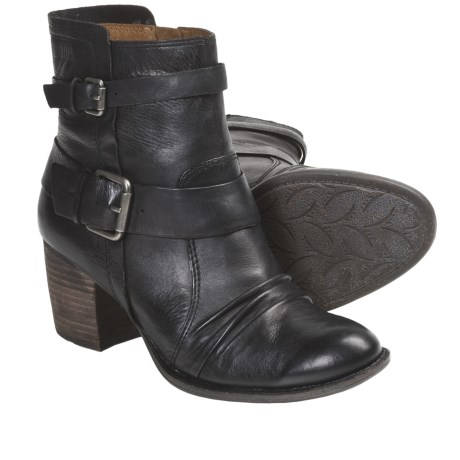 Naya Virtue Leather Boots (For Women)