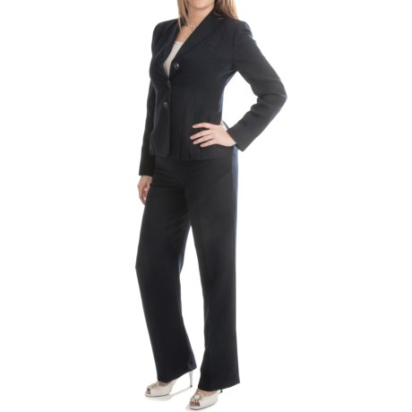 Pleated Jacket Pantsuit (For Women)