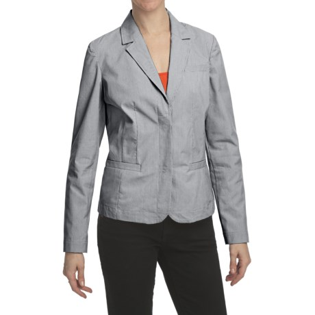 Specially made Pinstripe Blazer - Stretch Cotton, Unlined (For Women)