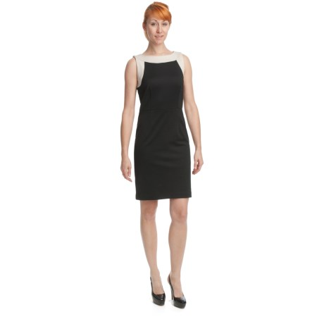 Specially made Ponte Knit Sheath - Sleeveless (For Women)