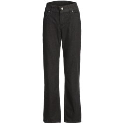 Specially made Relaxed Fit Jeans with Tummy Control - Straight Leg (For Women)