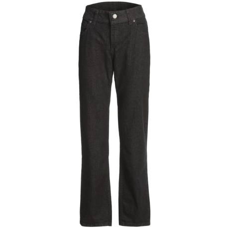 Relaxed Fit Jeans with Tummy Control - Straight Leg (For Women)
