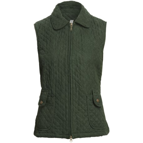 Specially made Quilted Microsuede Vest (For Women)