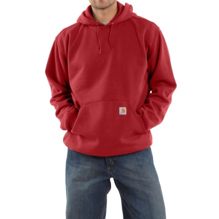 Carhartt Midweight Hoodie (For Men) in New Navy - 2nds