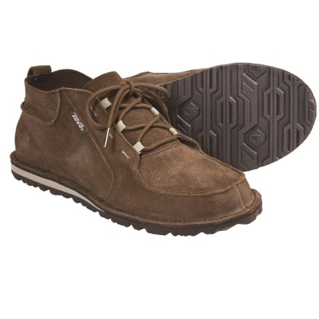 Teva Mush® Atoll Chukka Boots -Suede (For Men)