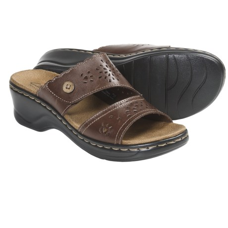 Clarks Lexi Amber Sandals - Leather (For Women)