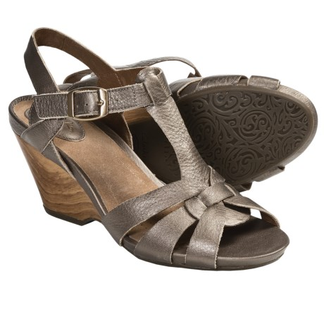 Clarks Woodward Willow Wedge Sandals - Leather (For Women)