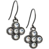 Jokara Crystal Floral Earrings