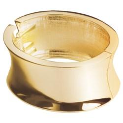Jokara High-Polish Cuff Bracelet - Hinged