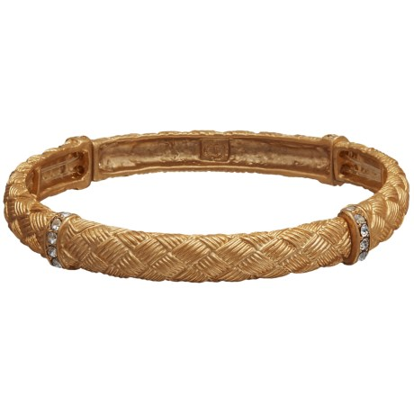Jokara Golden Weave Stretch Bracelet