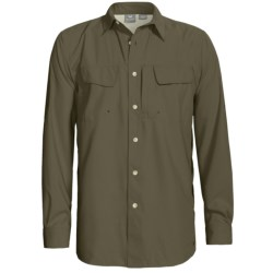 White Sierra Catamaran Roll Up Shirt - UPF 30, Long Sleeve (For Men)