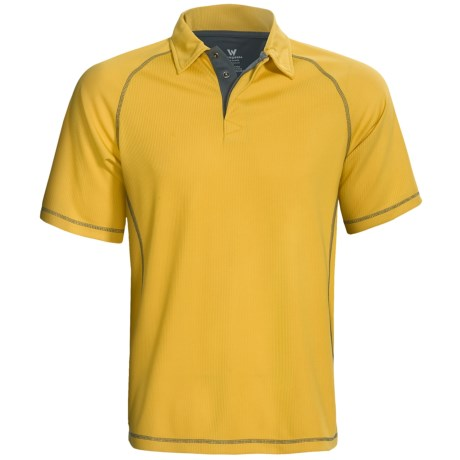 White Sierra Granite Creek CoolMax® Polo Shirt - UPF 40+, Short Sleeve (For Men)