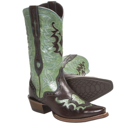 Ariat Rienda Cowboy Boots - X-Toe, Leather (For Women)