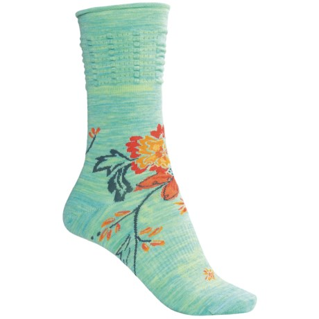 SmartWool Azalea Socks - Merino Wool, Crew (For Women)