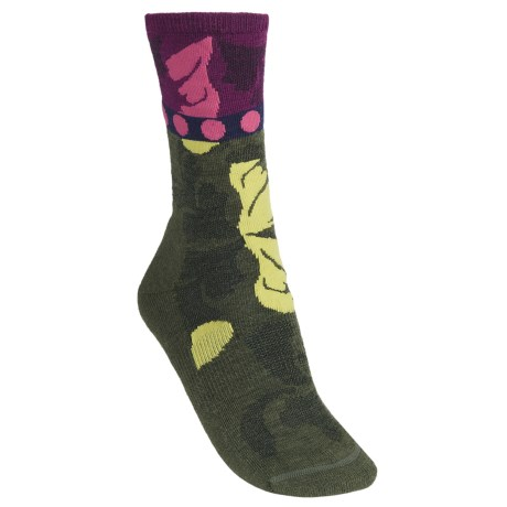 SmartWool Reflections Leaf Socks - Merino Wool, Crew (For Women)